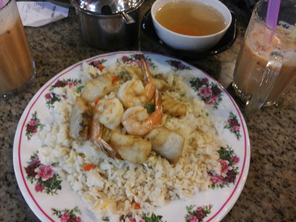 富源餐廳的海鮮炒飯