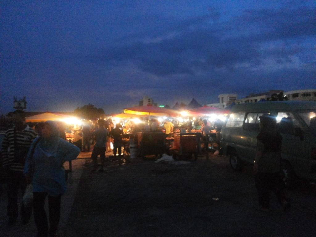 沙巴菲律賓夜市