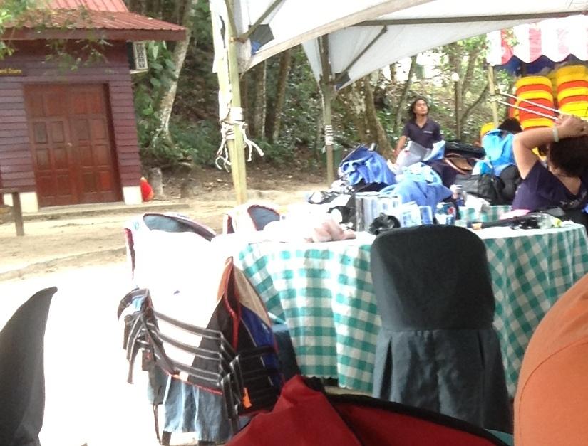 沙比島休息桌