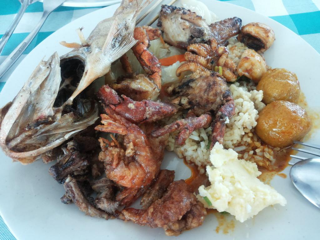 沙比島海鮮BBQ自助餐
