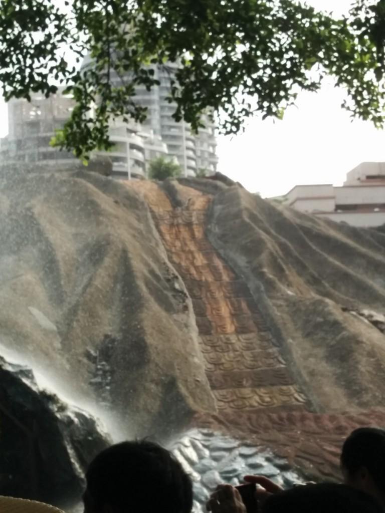 山洪暴發表現前