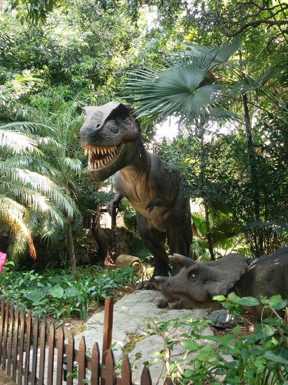 有很多恐龍