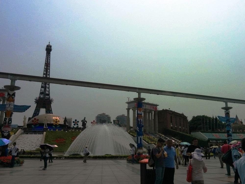 深圳世界之窗廣場門口