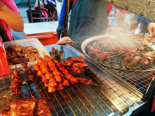 好吃的泰式烤肉