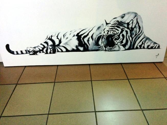 很有霸氣的老虎