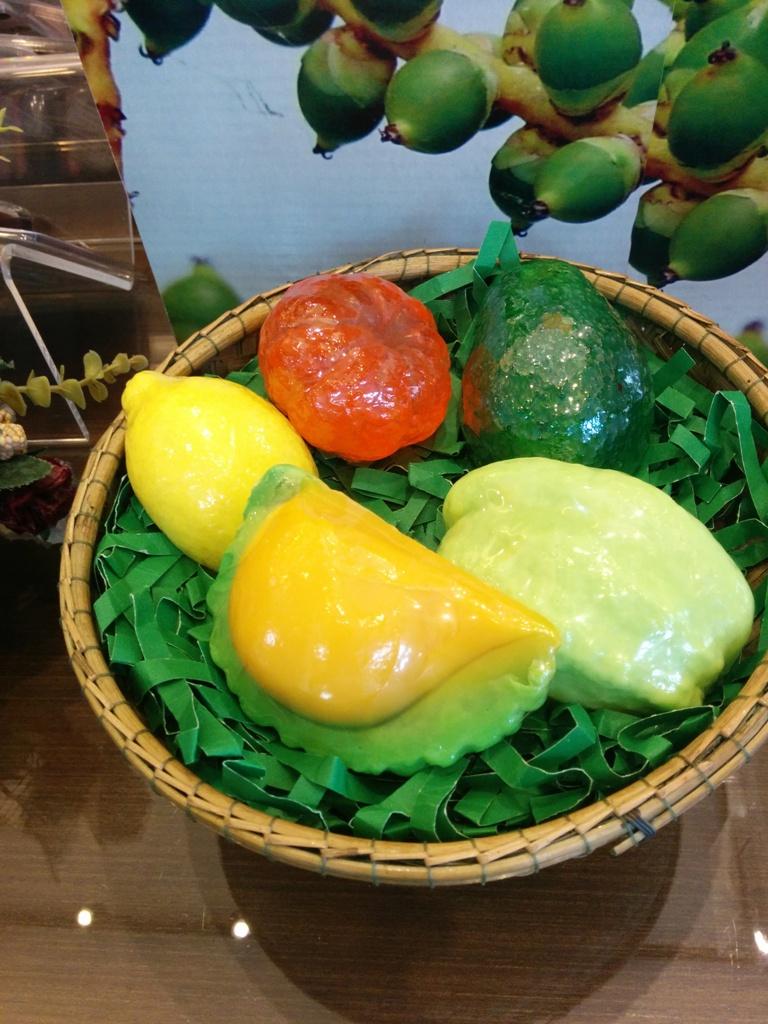 很精美的水果外型肥皂