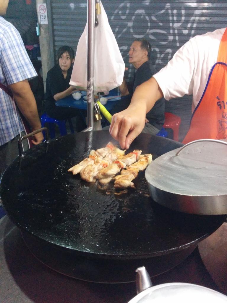 最好吃的雞肉串
