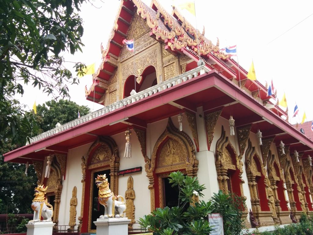 沿途看到的泰國廟宇