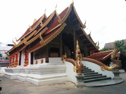 清邁寺廟很漂亮