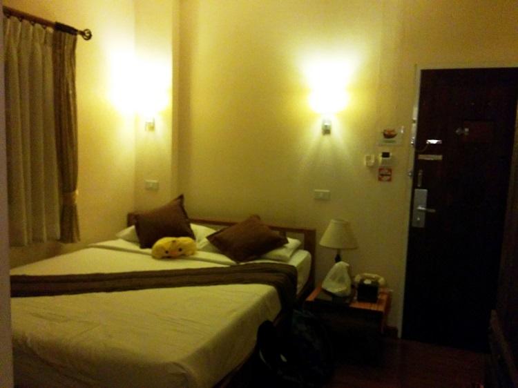 清邁酒店房間1