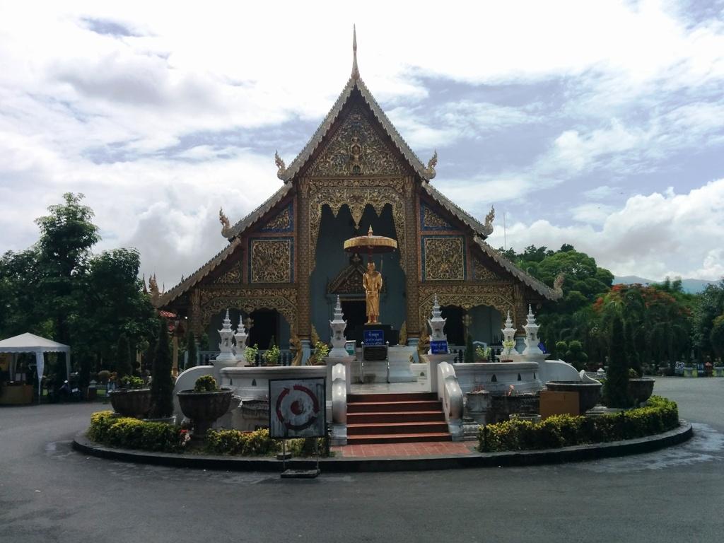 超精緻的清邁廟宇