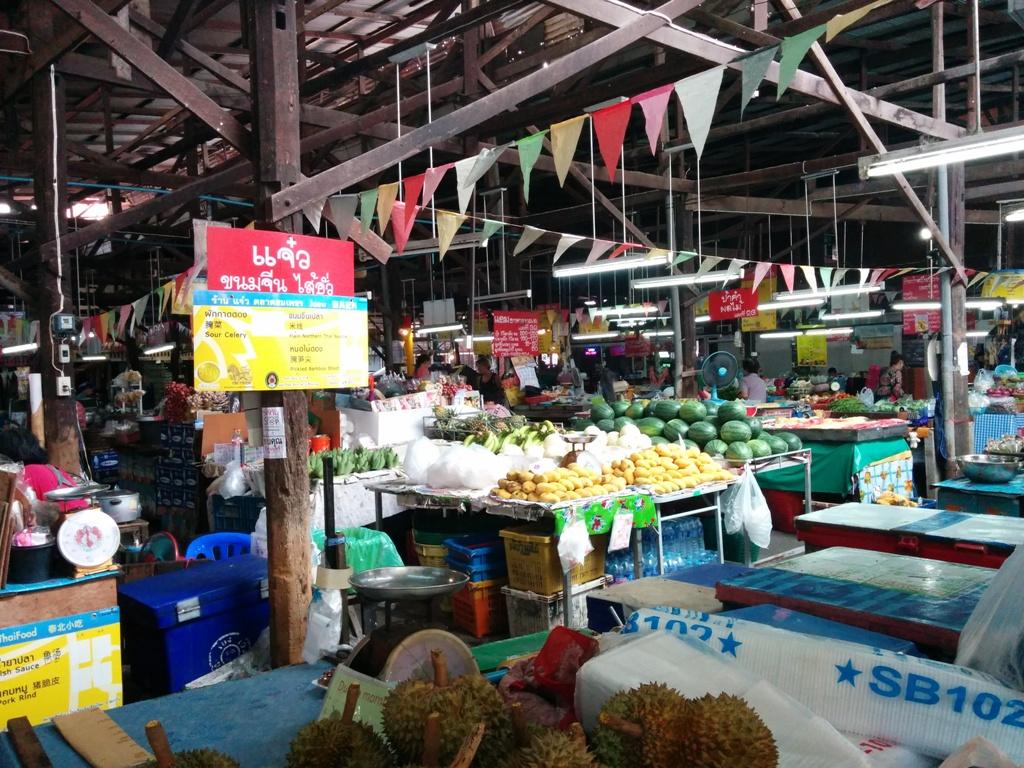 路過一個菜市場