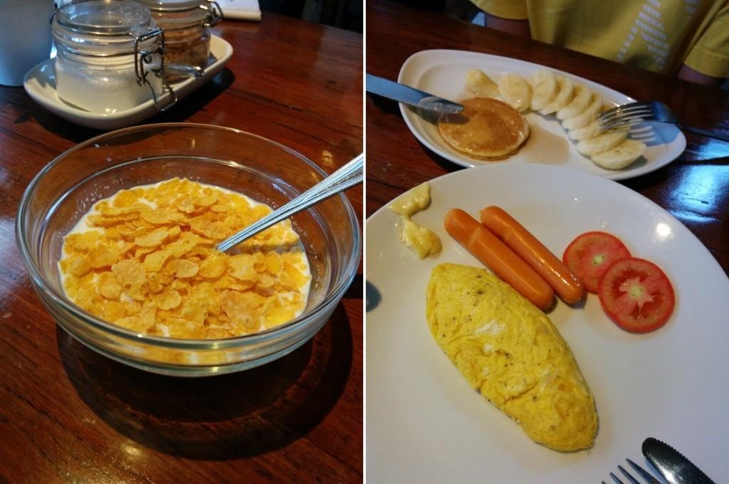 酒店提供的早餐
