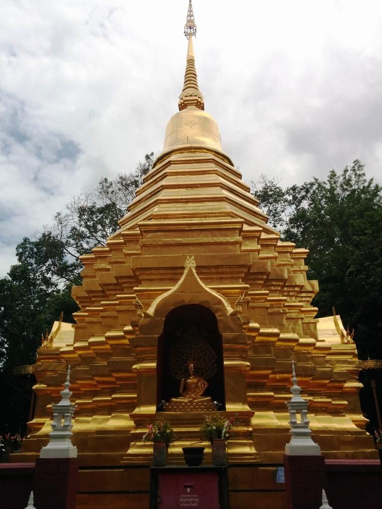 金碧輝煌的泰國廟宇