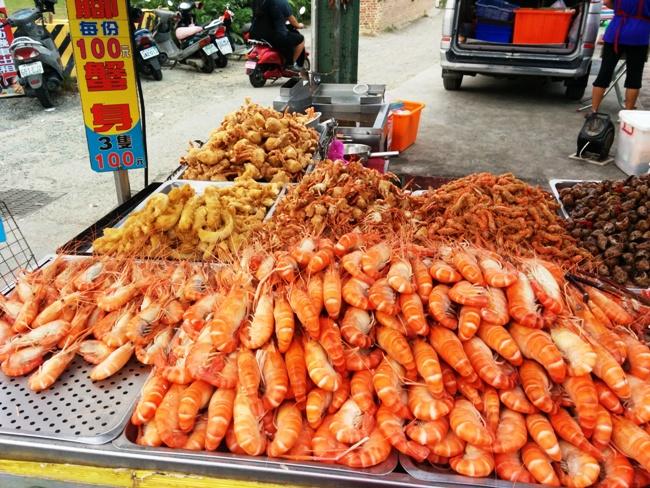 很震撼的爆膏蝦