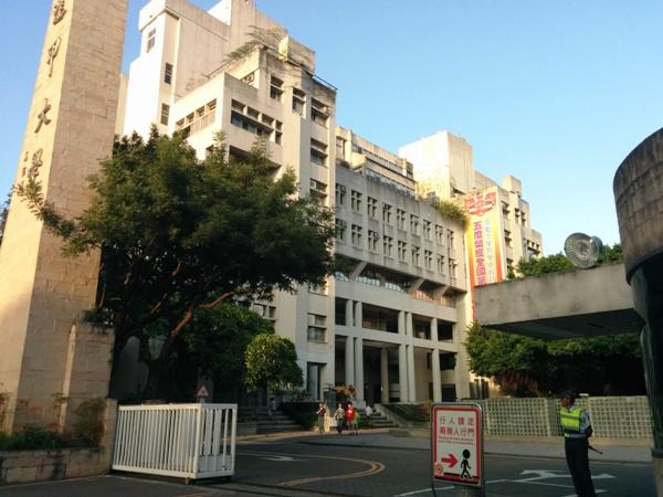 台灣大學和香港的很不一樣
