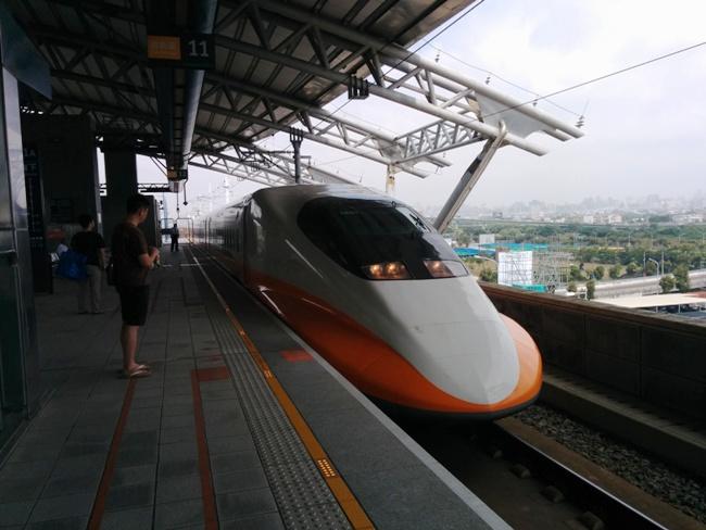 很有霸氣的台灣高鐵