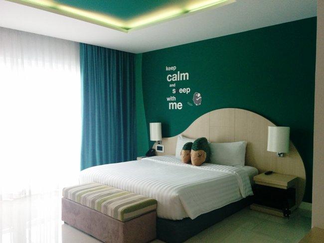 布吉酒店房間很漂亮