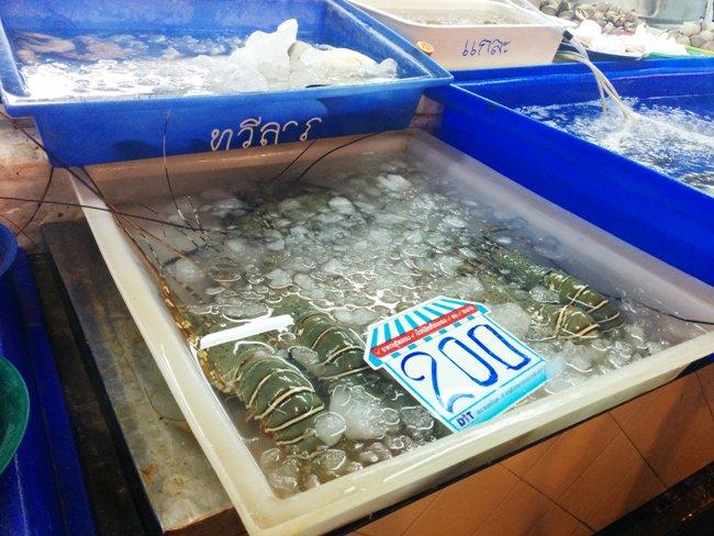 很想吃龍蝦