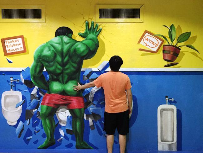 調戲Hulk