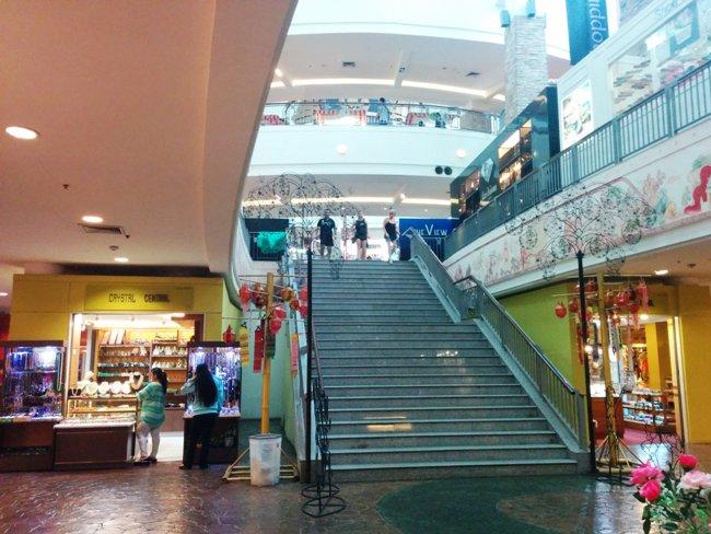 很大的一個商場