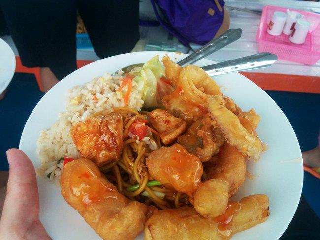 泰國午餐很好吃