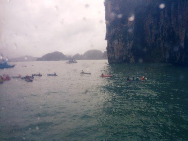 午飯後到達另一島嶼Honey Island