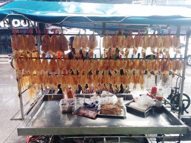 很多燒魷魚