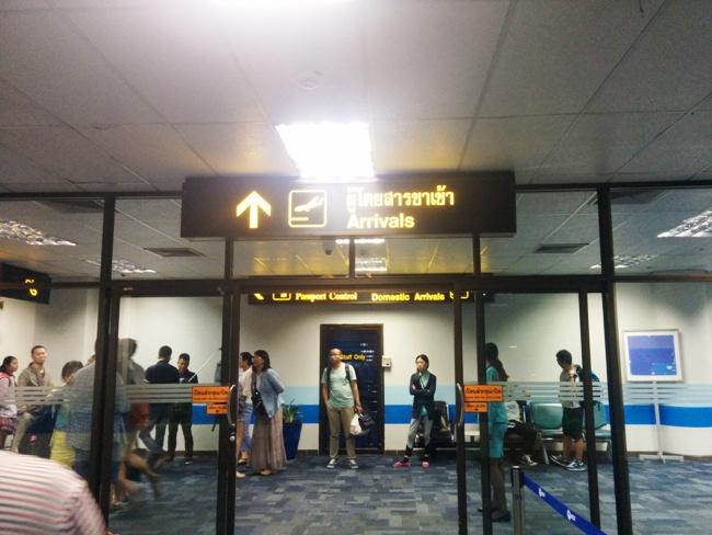 很幸運的沒有delay,很順利的到達布吉機場了~