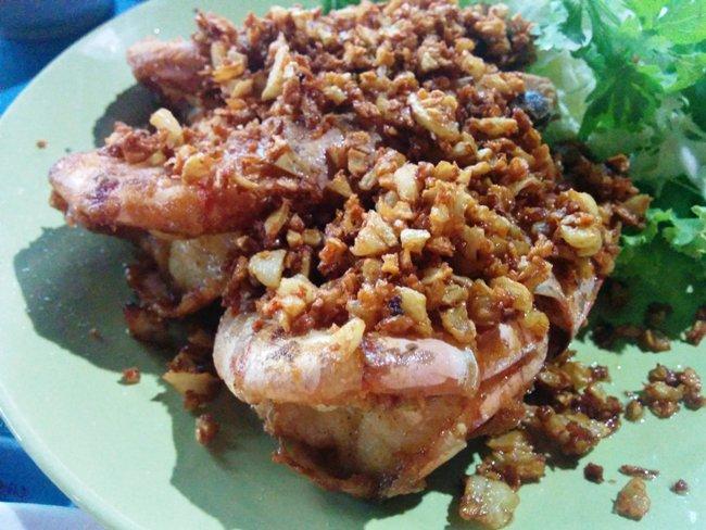 蒜香大蝦非常好吃! 當然燒的也很讚!!