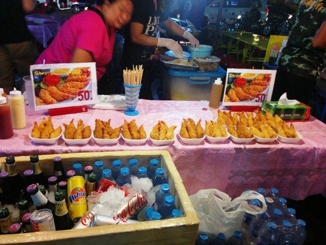 炸蝦蝦很吸引啊