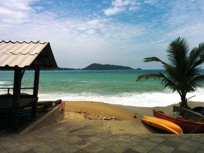 酒店旁邊海灘