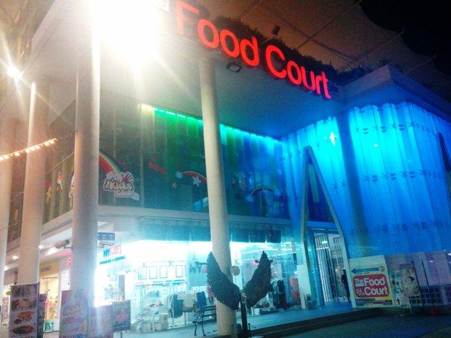 晚上有live_brand的food_court