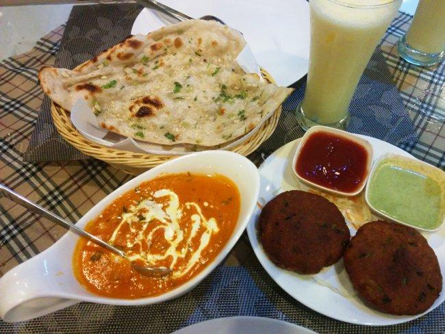 味道超一流的印度菜
