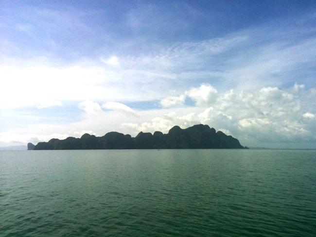 布吉風化的小島嶼