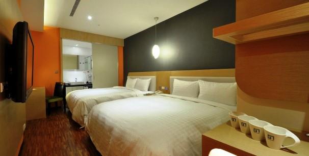 台北酒店四人家庭房