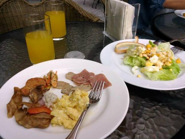台北酒店早餐