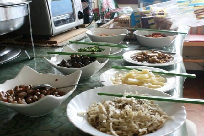 清境民宿早餐