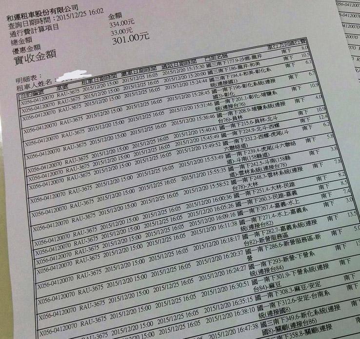 台灣公路電子收費