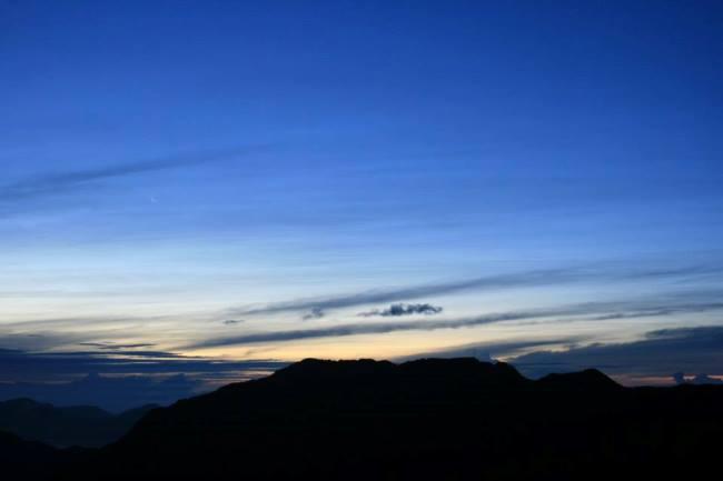 清晨5點的合歡山
