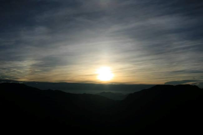 合歡山日出
