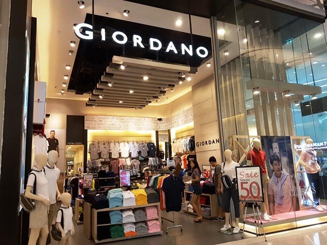 居然看到Giordano!