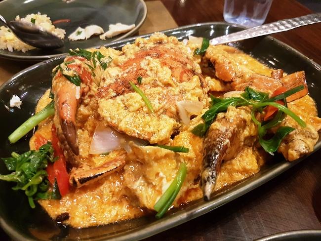 超正的咖哩蟹