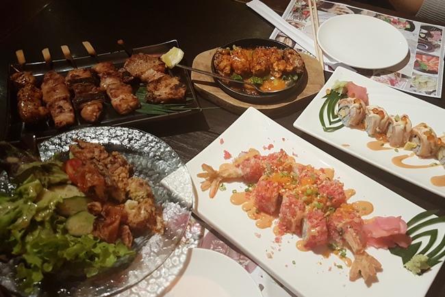 曼谷日式晚餐.