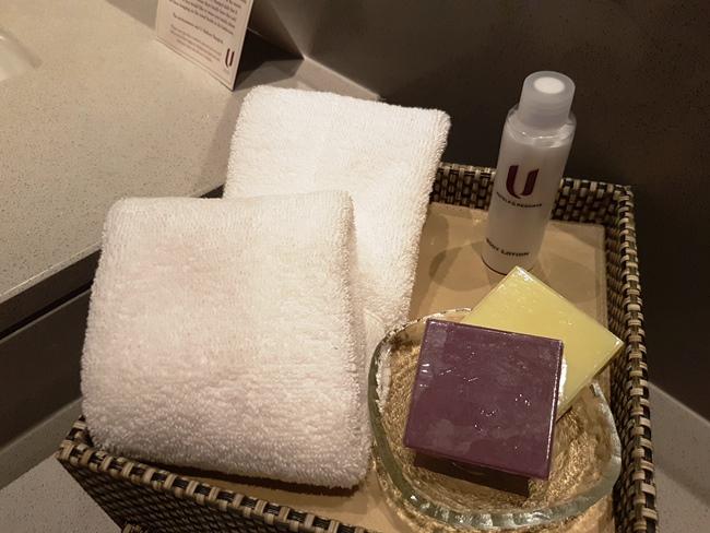 酒店送的肥皂