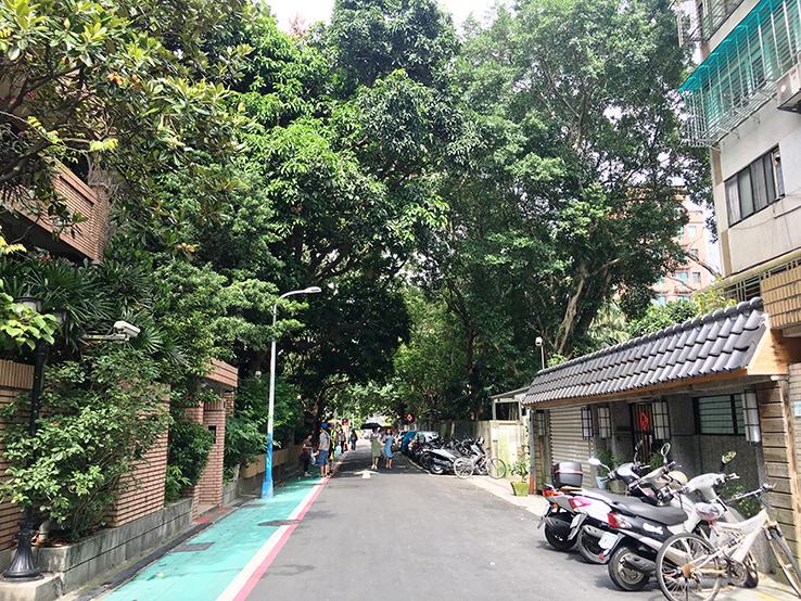 1.台北青田街