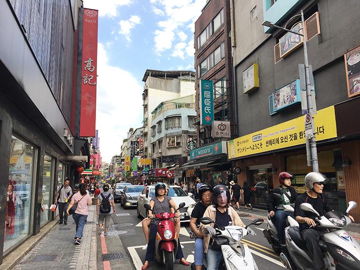 台北美食街