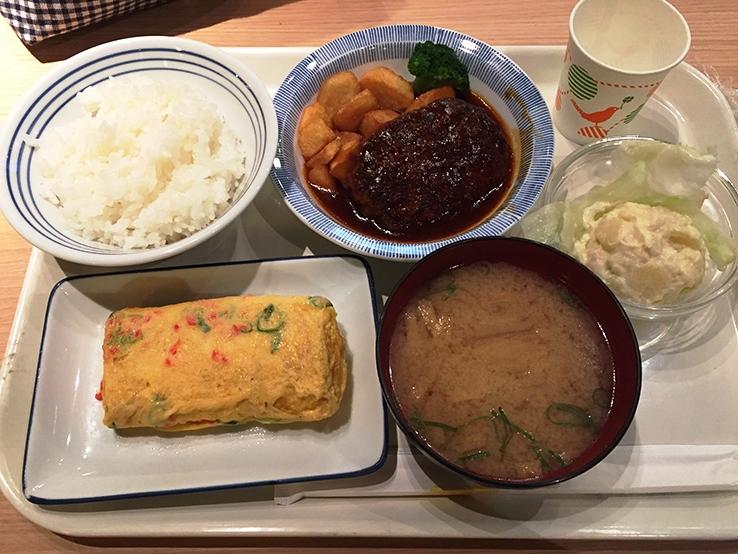 完美的日式午餐