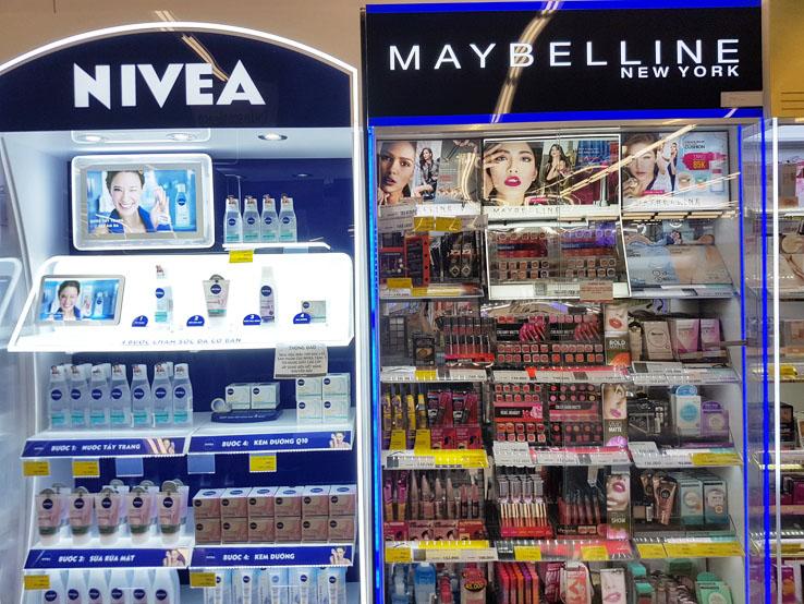 化妝用品較便宜