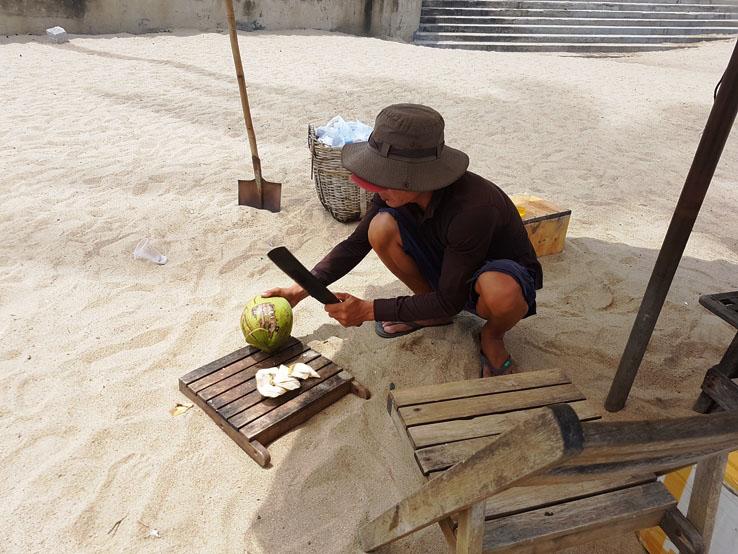 即買即開的椰子